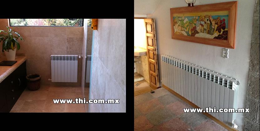 Calefaccion hidronica calefaccion por piso radiante - Radiadores de calefaccion ...