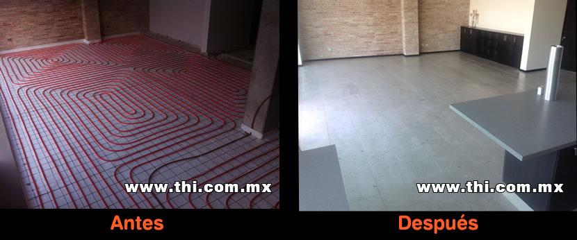 Mobili da italia qualit tuberias para calefaccion por - Pavimento para suelo radiante ...
