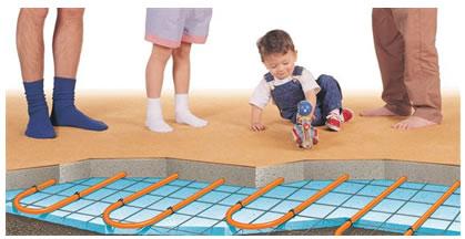 Calefaccion hidronica calefaccion por piso radiante - Calefaccion por el suelo ...