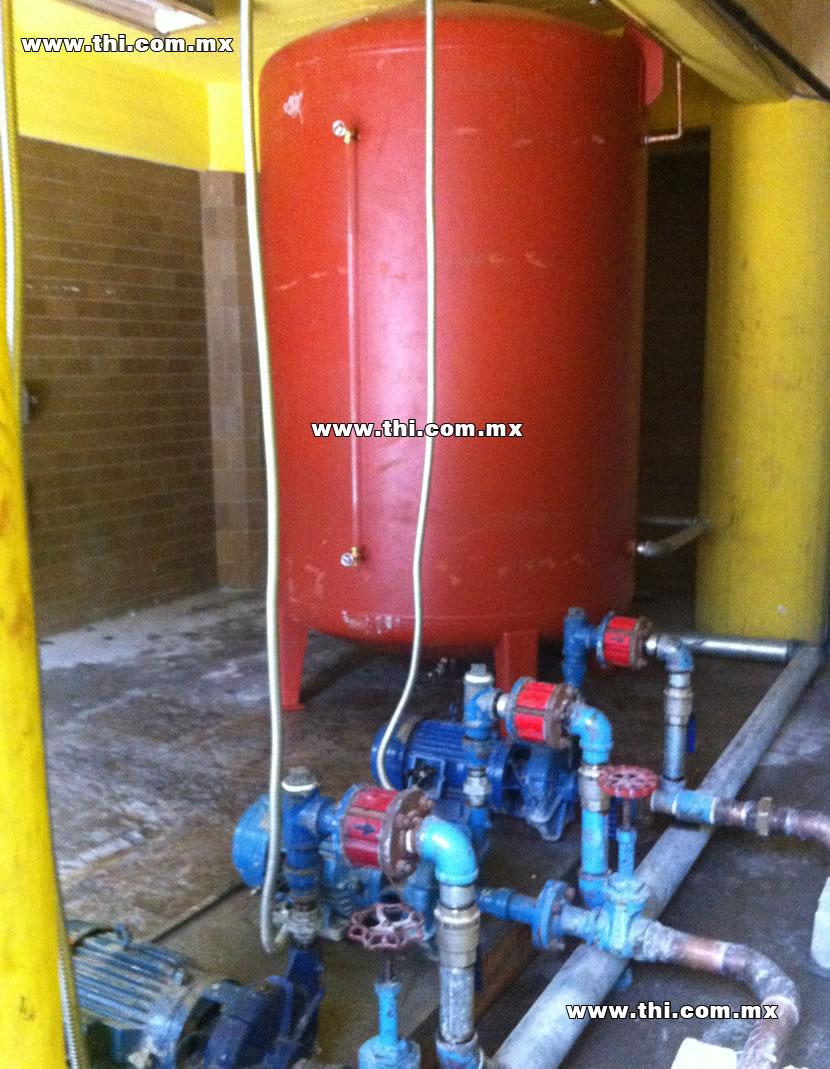 Tanques para agua caliente tanques hidroneumaticos for Tanque hidroneumatico para agua
